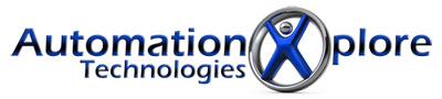 Automation Xplore Professional Logo Design