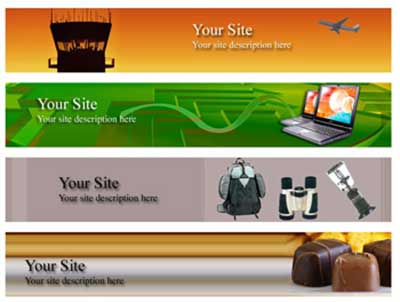 Website headers