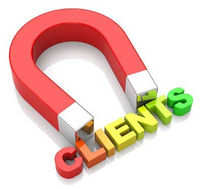 attracting clients