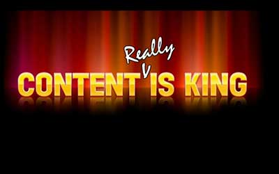 content really is king