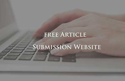 free Article Submission Website