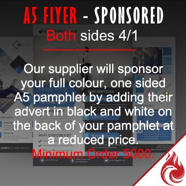 A5 Flyer - Sponsored