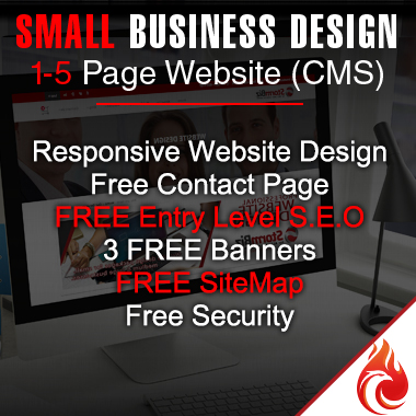 Small Website Design Package