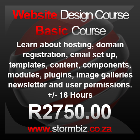 Basic Website Design Course