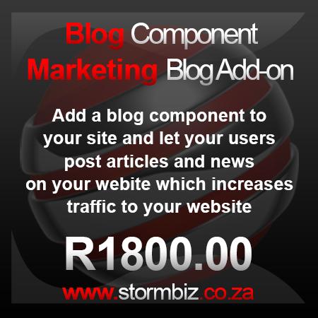 Blogging Component