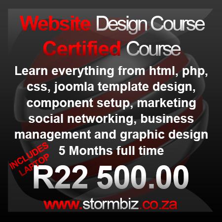 Certified Website Design Course