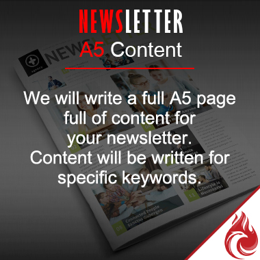 News Letter A5