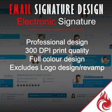 E-Mail Signature Design