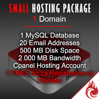 Small Business Website Hosting Package